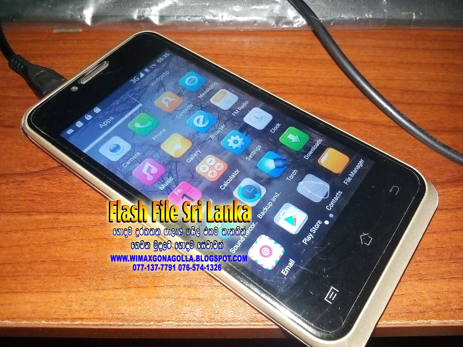 Flash File SriLanka : Greentel T140 MTK6580 Flash File