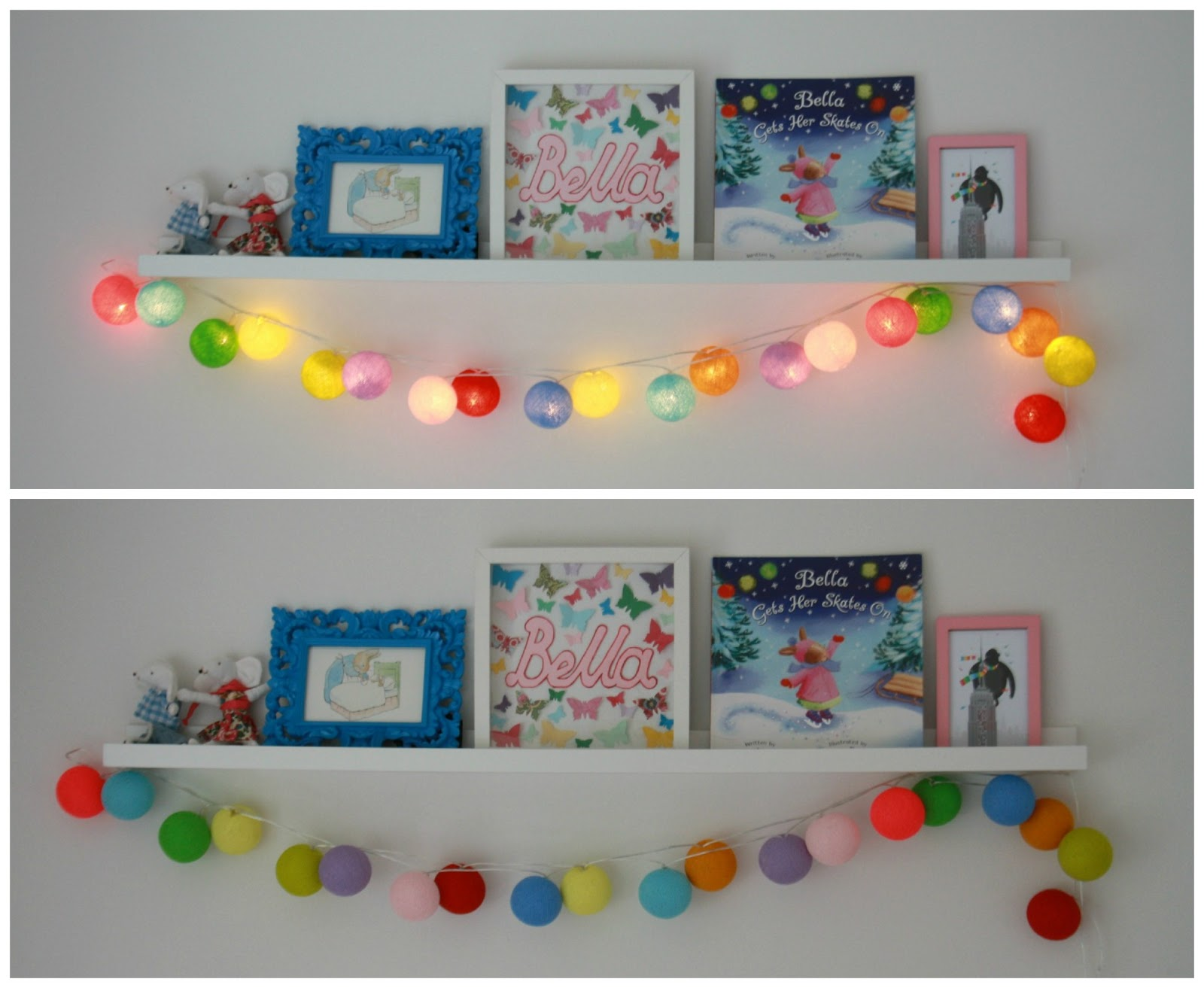 Fairy Lights Kids Room Tales From A Happy House Room For Improvement Bella 39s