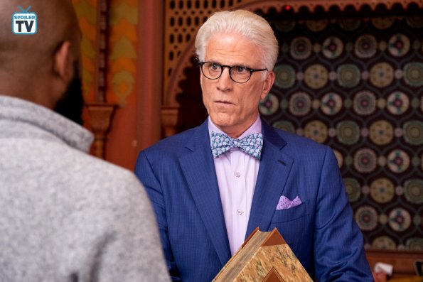 """NUP 183521 0012 595 Spoiler%2BTV%2BTransparent - The Good Place (S03E11) """"Chapter 37: The Book Of Dougs"""" Episode Preview"""