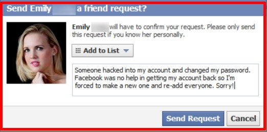 how to see a private facebook account