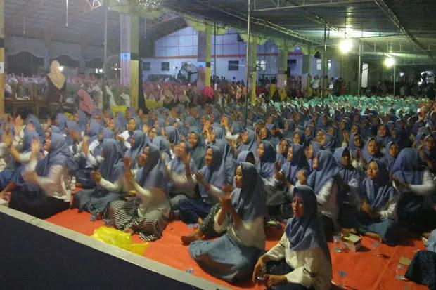 Ribuan Santri Meriahkan Malam Penutupan Kirab Satu Negeri GP Ansor