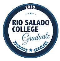 snapshot of badge 3.  Text: Rio Salado College Graduate