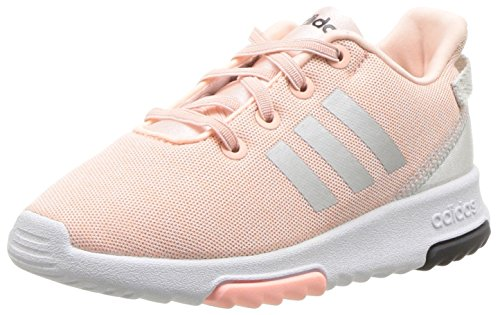7a69a6e66 #baby #girl adidas Kids CF Racer TR Running Shoe, Haze Coral/Metallic  Silver/White, 10K M US Toddler 2019