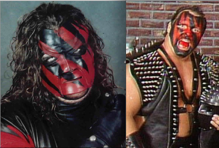 Kane mask was a copy of Demolition Smash make-up