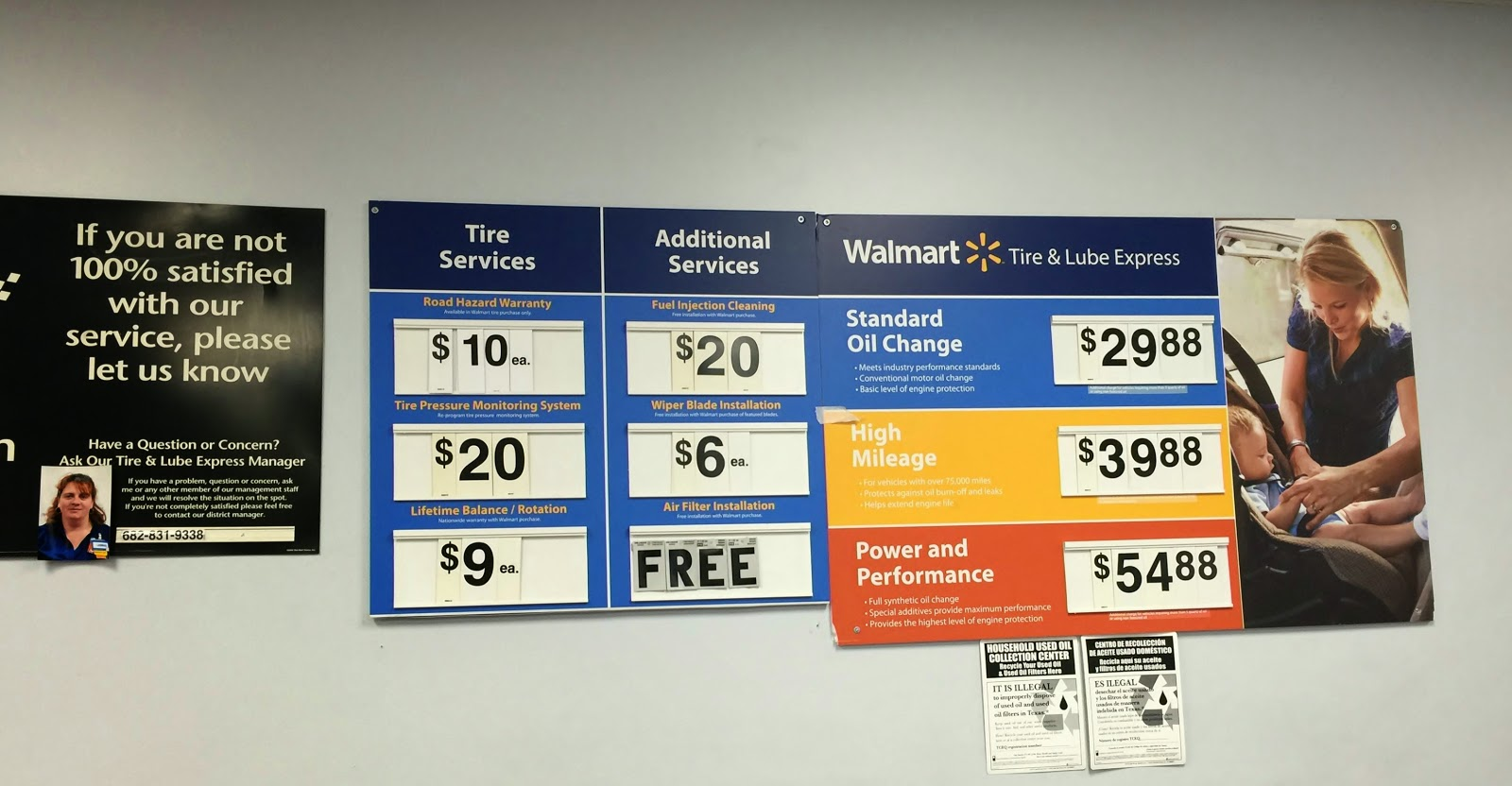 Walmart Oil Changes >> Walmart Automotive Oil Change Price Autonom Adtddns Asia