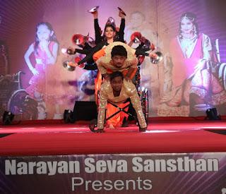 Narayan Seva Sansthan Organised Divyang Telent Show In Jaipur