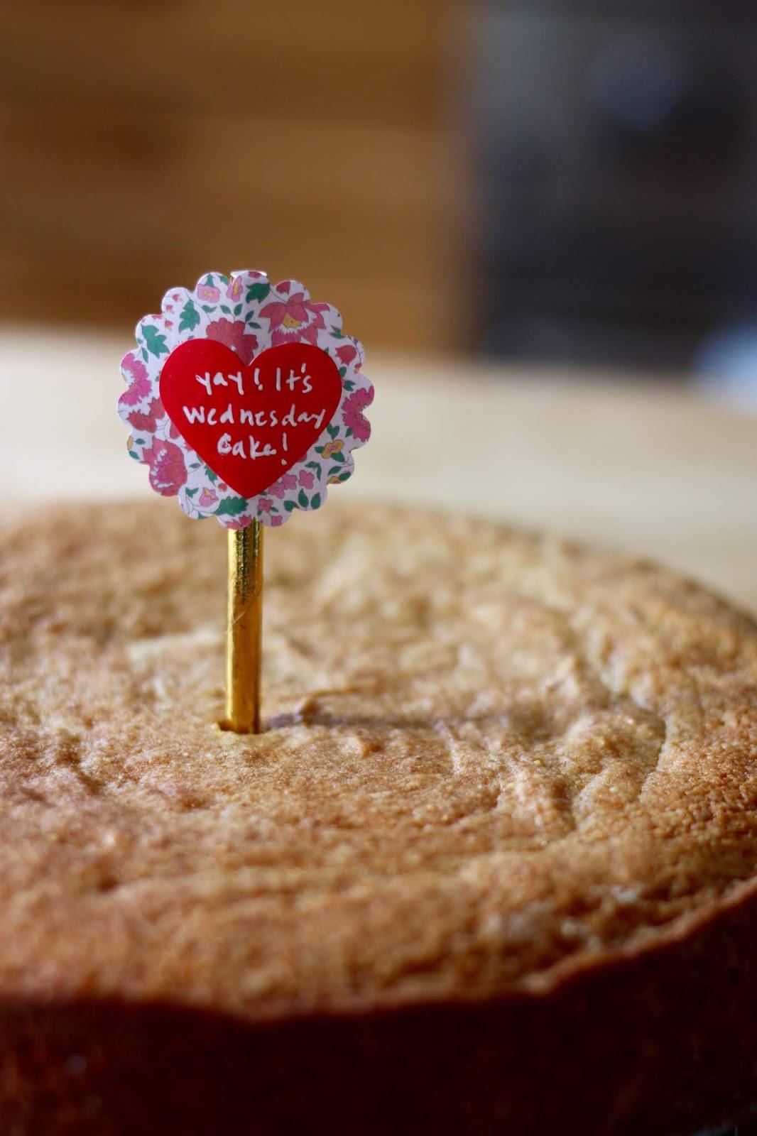 ben and birdy: Gluten-Free Yay It's Wednesday Cake! Donut Cake