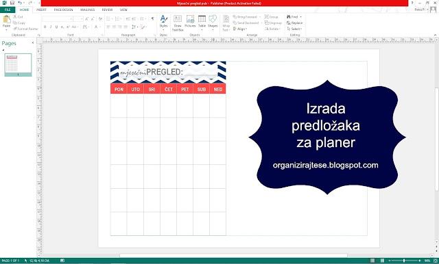 DIY predložak za planer - izrada predložaka