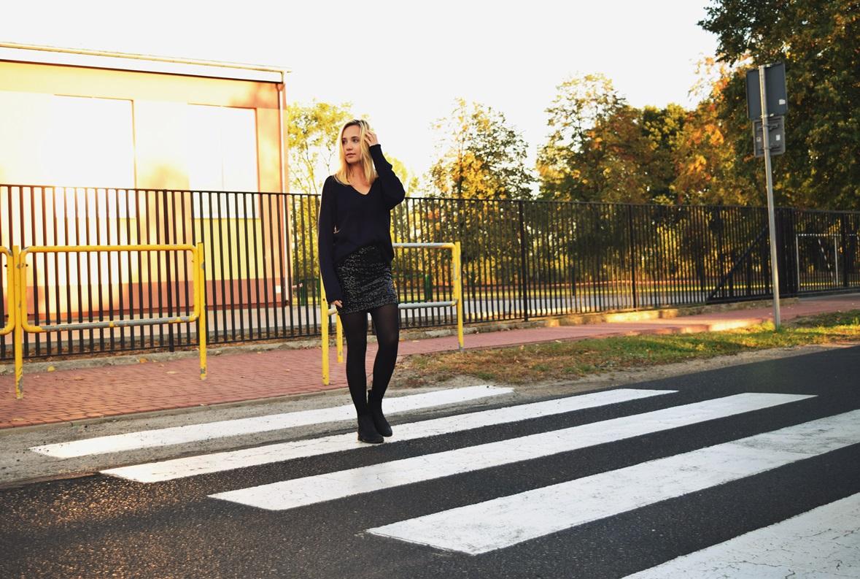 fashion ootd oversize sweather sweter jesień outfit stylizacja