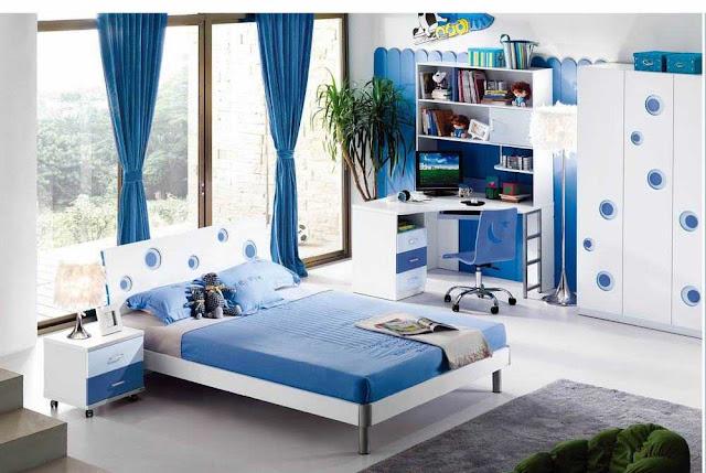Dekorasi Kamar Tidur Anak Laki-Laki Minimalis