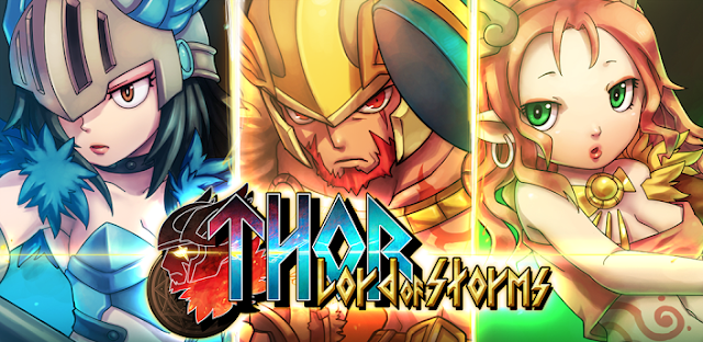 Thor: Lord of Storms v1.0.3 Mod (Unlimited Gold and Diamonds) Apk Game Download