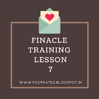 finacle training lesson 7 by poupdates
