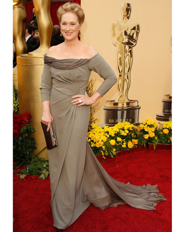 Fashion World Actress Meryl Streep Dresses