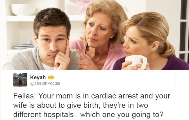 What would you do in this situation dearies? See hilarious reply