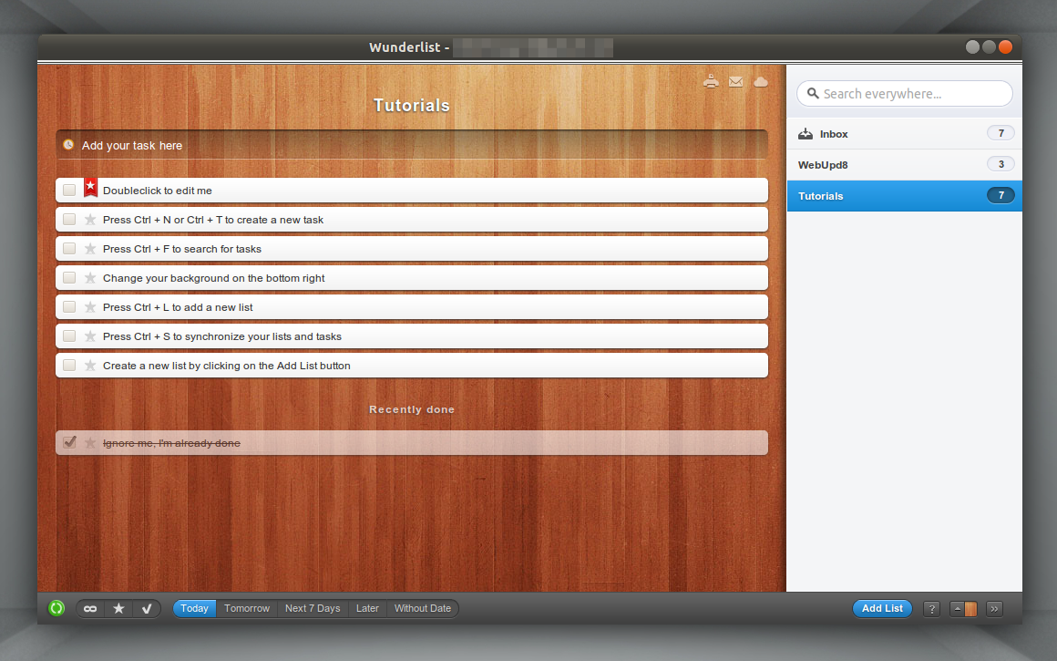 How To Install Wunderlist In Ubuntu 12 10, 12 04 Or 11 10 ~ Web Upd8