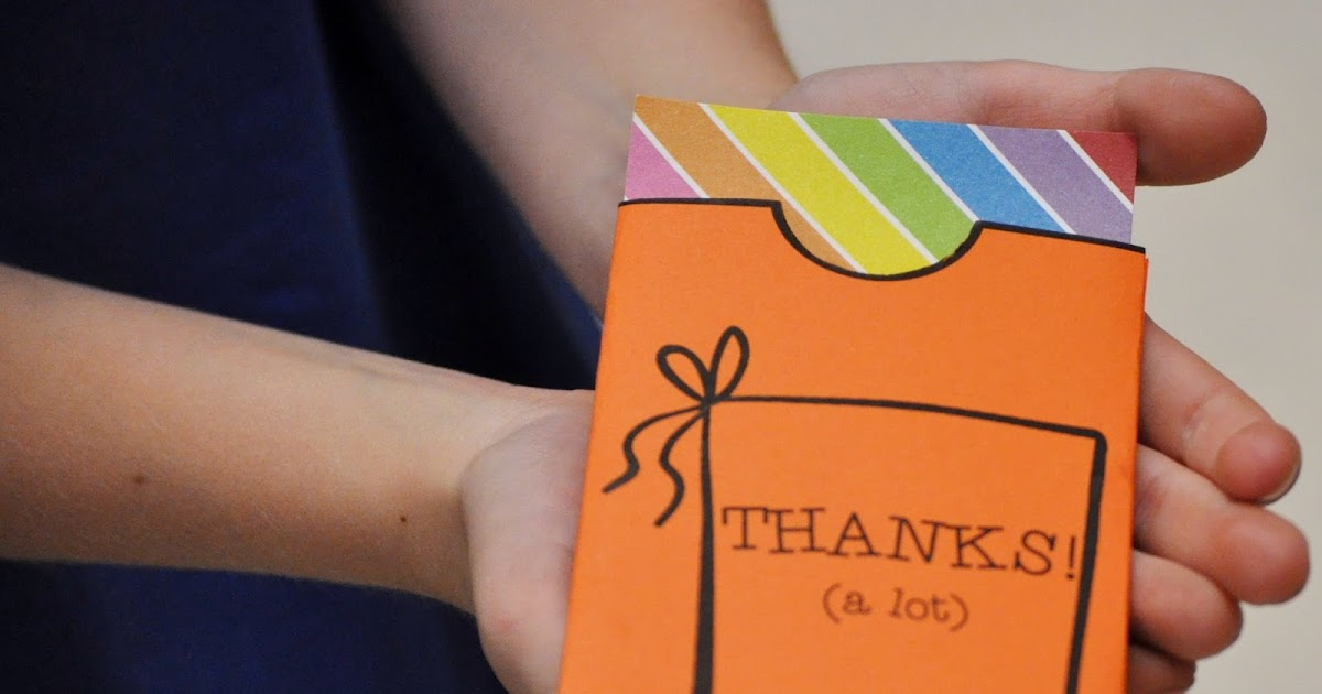 Brain Waves Instruction: Writing Thank You Notes (and ...