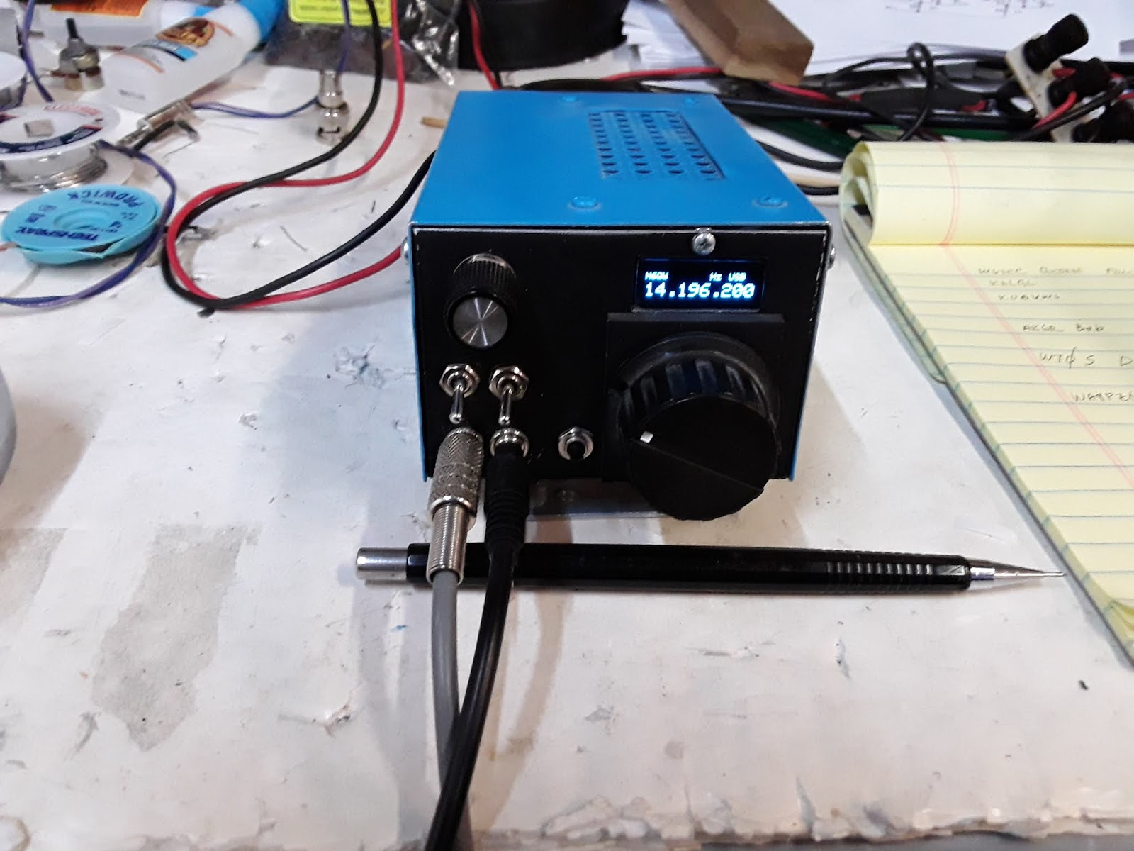 N6QW: 2019 ~ What is the simplest homebrew SSB Transceiver