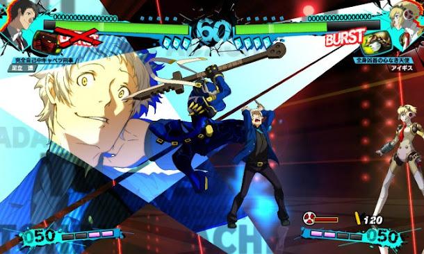 Persona 4: Arena Ultimax (USA) PS3 ISO Screenshots #1