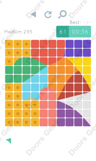 Cheats, Walkthrough for Blocks and Shapes Medium Level 295