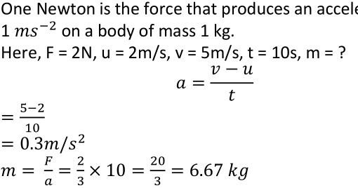 Extra Questions for Class 9th: Ch 9 Force and Laws of Motion