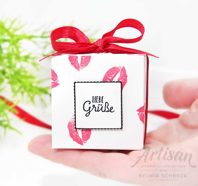Gift Box-Stampin Up-Valentinstag