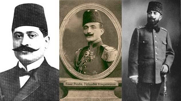 Οι Τρεις Πασάδες οδήγησαν την Οθωμανική Αυτοκρατορία σε πόλεμο και έθεσαν σε εφαρμογή τη Γενοκτονία