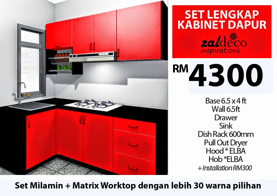 Buat Kitchen Set