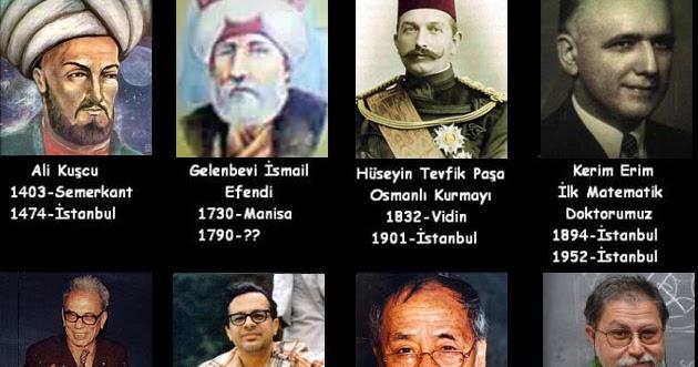 ünlü Matematikçiler