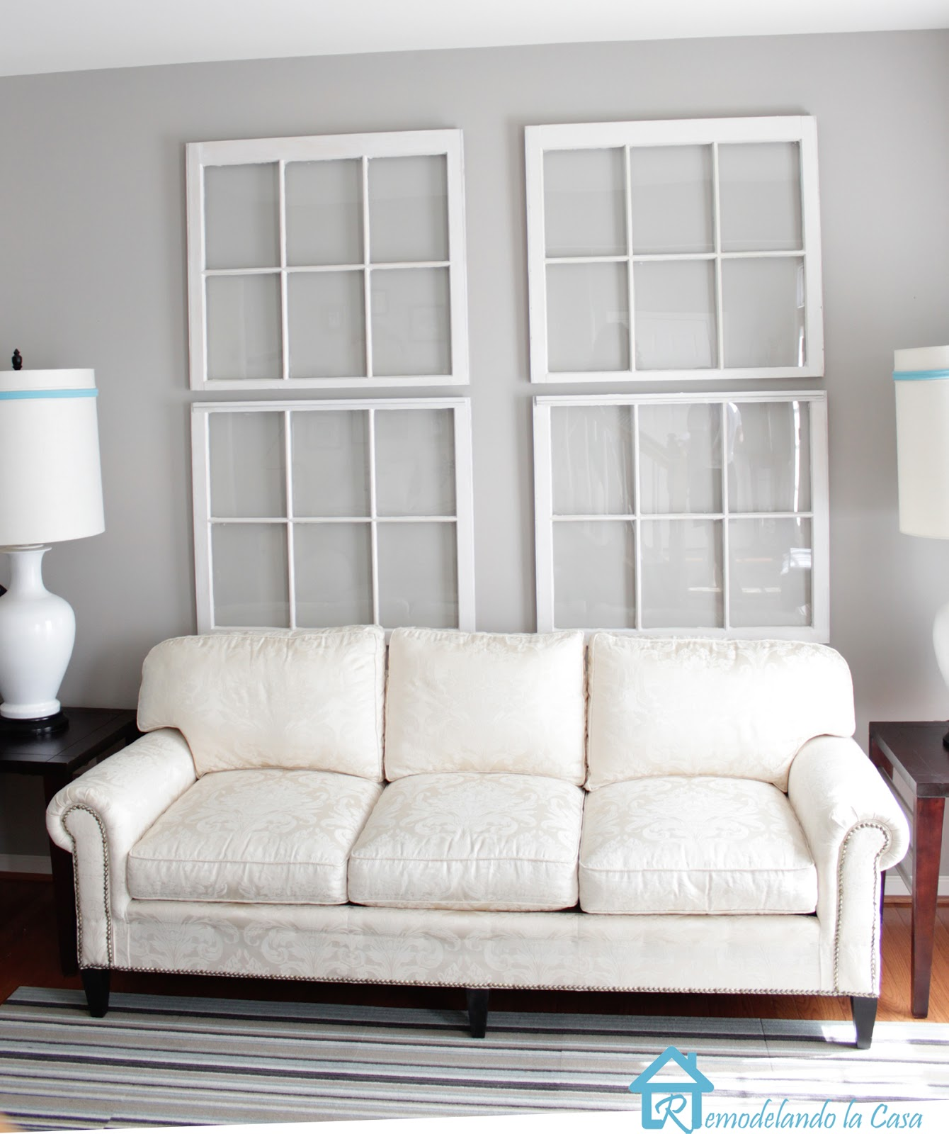 Decorating with Old Windows - Remodelando la Casa