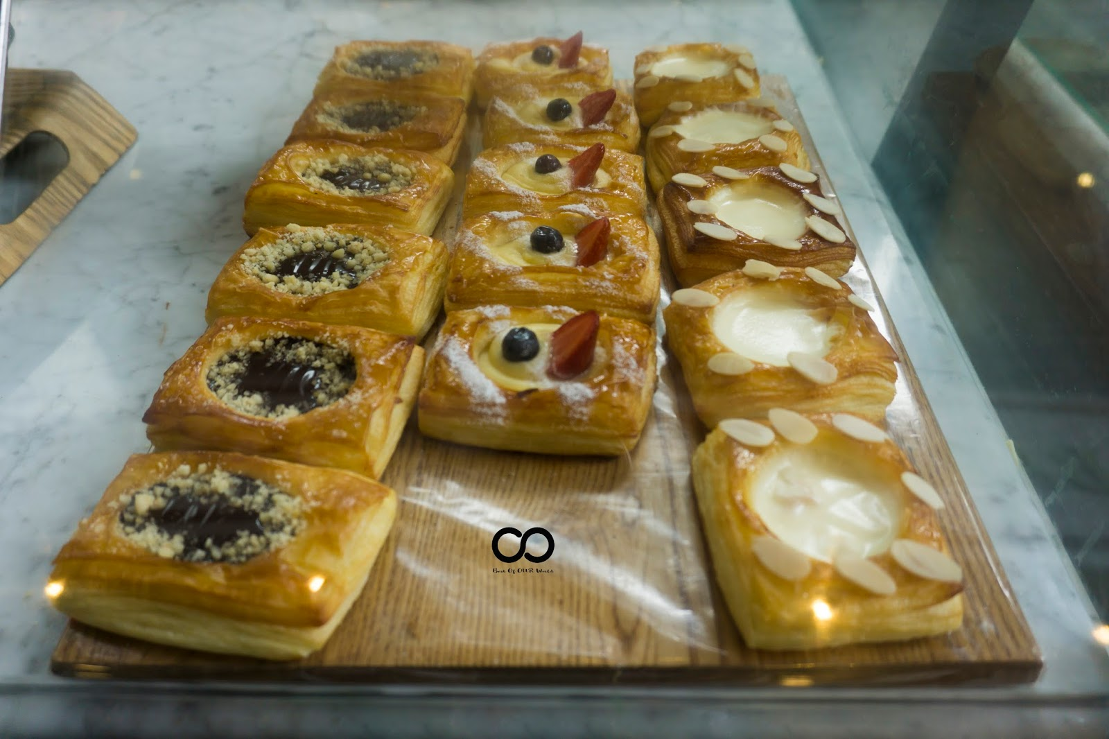 breads, pastries, and cakes