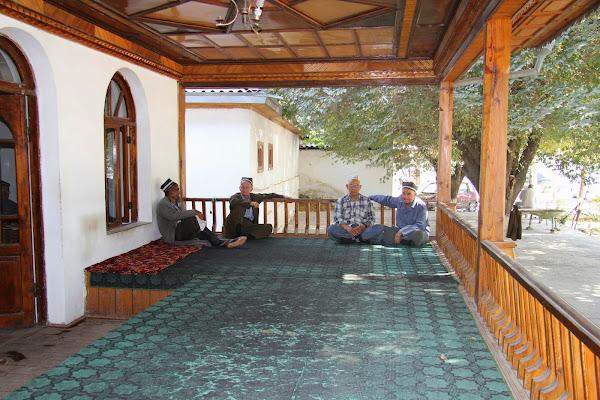 Tadjikistan, Khodjent, Proletar, Gulakandoz, chaïkhana, © L. Gigout, 2012