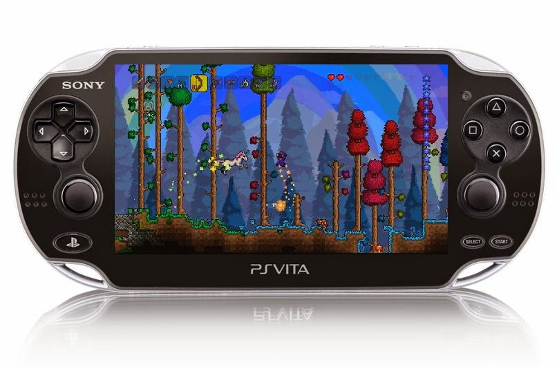 PS Vita Roundup: Terraria on Vita gets the 1 2 update this week