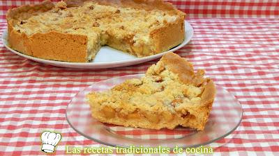 Receta Fácil De Tarta De Manzana Muy Crujiente Y Deliciosa