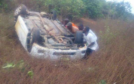 Delta State gov's aide unharmed after road accident