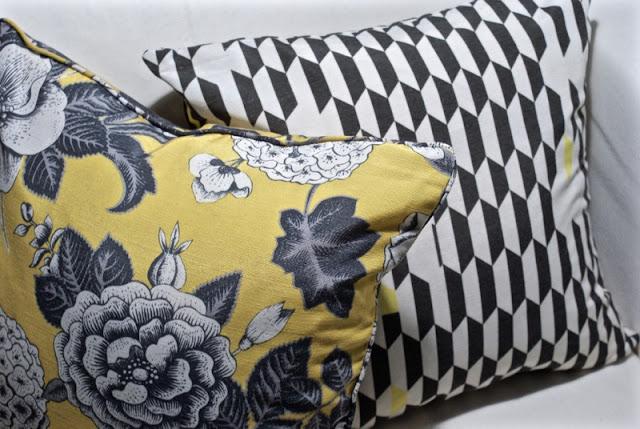zicos, svanefors, keltainen, graafinen, valkoinen sisustus, minimalistinen