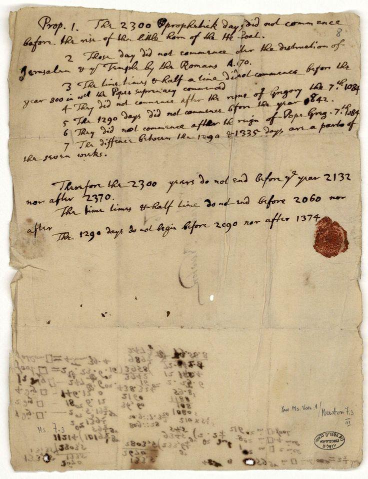 Ramalan Kiamat Isaac Newton