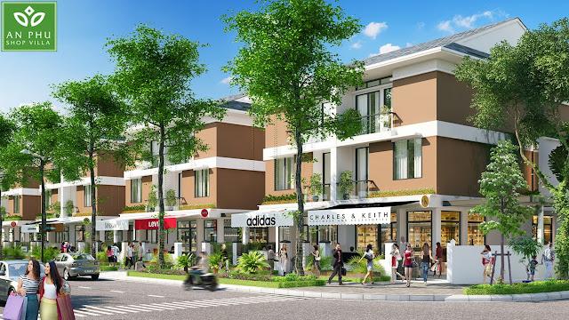 Ý tưởng thiết kế An Phú Shop Villa Dương Nội