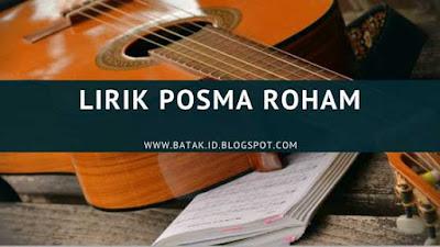 Lirik Posma Roham - Frans Sirait