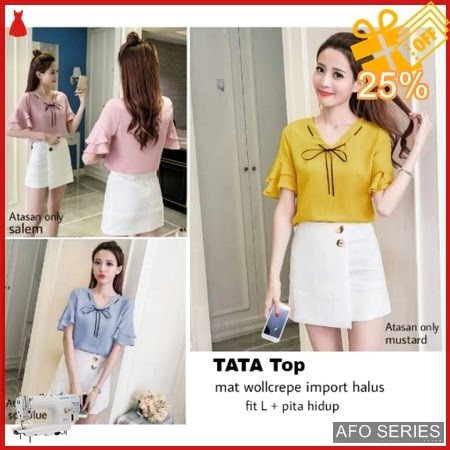 AFO134 Model Fashion Tata Top Modis Murah BMGShop