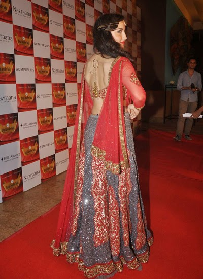 Yami, Amrita Rao, Neha Dhupia, Elli Avram, Gul Panagand others at 10th Gemfields & Nazraana Retail Jeweller India Awards 2014