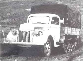 2-тонная полугусеничная машина «Маультир»