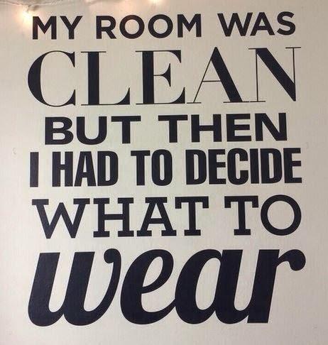 ma chambre était propre, mais...