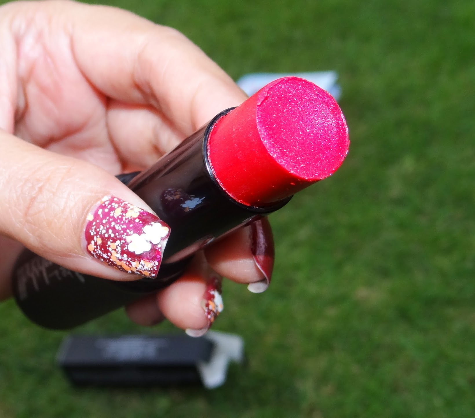 Fab Bag, May Fab Bag, monthly subscription, Be a bombshell, lip, cheek and eye stick, review, review and swatches, Chamber of Beauty