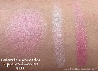 ILLUMINATING ROUGE HYPOAllergenic BELL 03 swatch