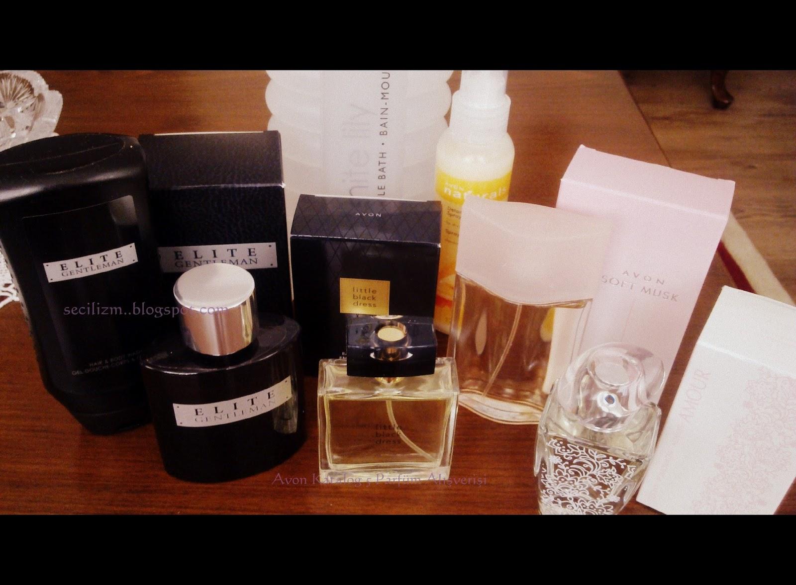 Secilizm Avon Katalog 5 Parfüm Ve Eczane Alışverişi