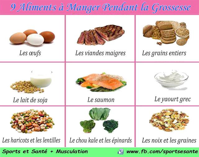 9 Aliments à Manger Pendant la Grossesse