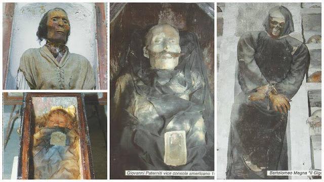 CATACUMBAS DE LOS CAPUCHINOS palermo, momias