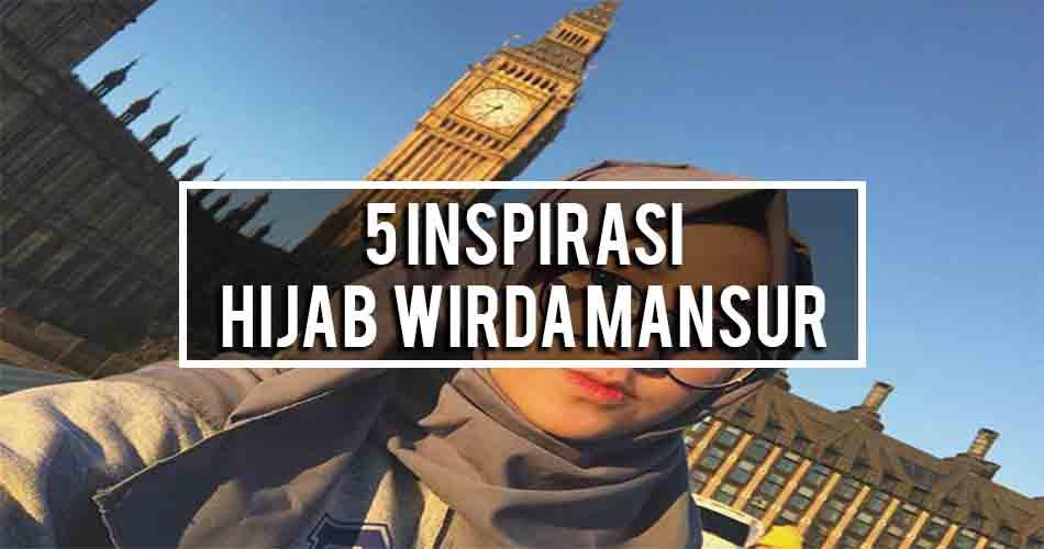 5 Inspirasi Hijab Wirda Mansur
