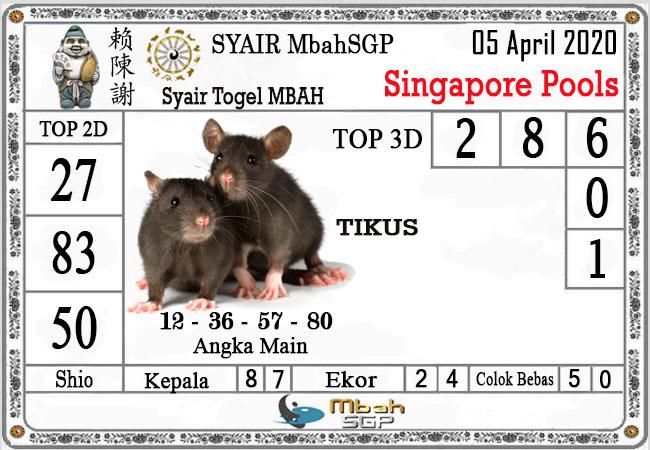 syair mbahsgp singapura