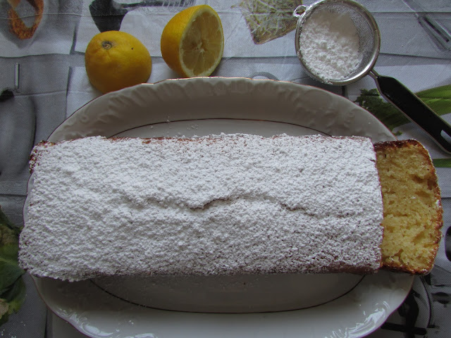 ciasto cytrynowe z oliwą